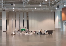 Staging Area For Exhibit Hall